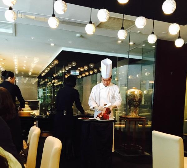リージェントホテル台北料理北京ダック