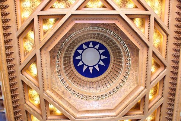 中正記念堂天井