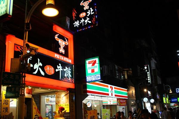 セブンイレブン台北