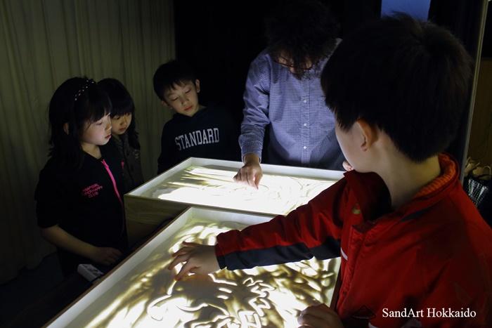 サンドアート教室